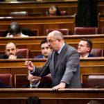 Francisco Igea en el pleno del Congreso